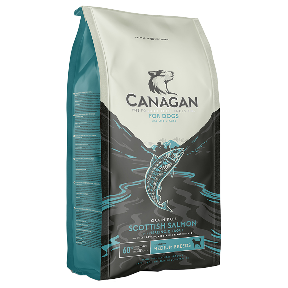 Canagan Scottish Salmon Grain Free Food For Dogs