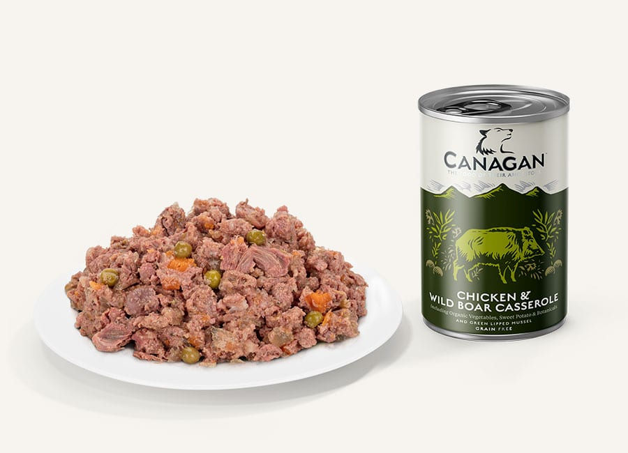 Chicken and wild boar Wet Dog Food